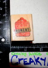 SPECIAL MOMENT TAG RUBBER STAMP INKADINKADO 94144