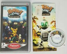 Ratchet And Clank Size Matters PSP game  manual inc. VERY GOOD. FAST POST