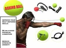 Focus Ball-Boxing Equipment w/ Head Band,Reflex Ball for Speed Training, Boxing