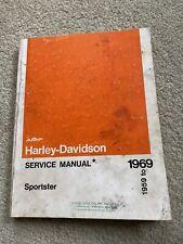 New ListingAmf Harley Davidson 1959 to 1969 Sportster Service Manual Vintage Original