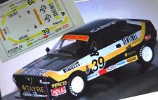 "DECAL CALCA 1/43 ALFA ROMEO SPRINT ""SENTINEL"" #39 J. PAREJA 1983"