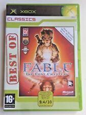 Fable The lost Chapters Classics Xbox - Microsoft Game Studio Lionhead Studios