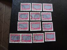 suiza - sello yvert y tellier nº 679 x13 matasellados (A4) stamp Suiza