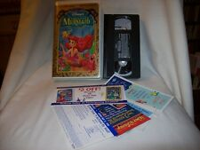 DISNEY MASTERPIECE VHS The Little Mermaid (VHS, 1998, Special Edition) CLAMSHELL