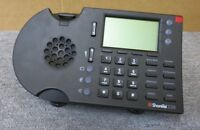 ShoreTel 230 IP VoIP Black Office Speakerphone Telephone With Stand & No Handset