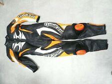 Hein Gericke Pro Sports One Piece Leather Race Suit Size 56 XL