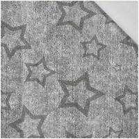 Grau Used Sterne Kontur Stoff Kinderstoff Baumwollstoff Meterware Kinder BA017