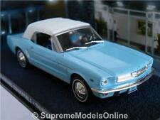 James Bond Ford Mustang Car Thunderball 1/43rd Connery Blue Issue K8967q ( )