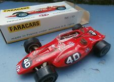 FARACARS INDIANAPOLIS STP TURBINE CAR N°40 rouge 1/43 avec boite made in FRANCE