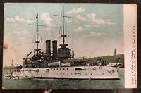 1909 Moravia NY USA Picture Postcard  Cover USS Alabama BB 8 Battleship