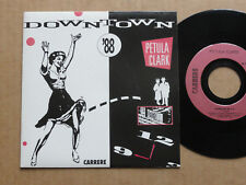 "DISQUE 45T DE PETULA CLARK  "" DOWNTOWN """