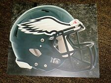 "PHILADELPHIA EAGLES HELMET NFL Fathead Wall Graphics 11"" x 9""  (Poster/Sticker)"