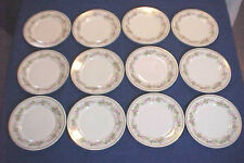 Set of 12 Plates  10  1/2 Inch Made in France For Davis Collamore Ltd