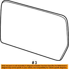 FORD OEM 11-14 F-150 Door Rear Side View-Mirror Glass Left BL3Z17K707D