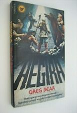 HEGIRA...Greg Bear...1st PB...Signed...Cover art by Stephen Fabian