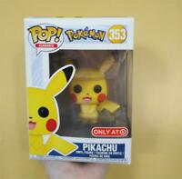 Funko Pop Games Pikachu Bulbasaur Charmander Vinyl Figure Model Toys
