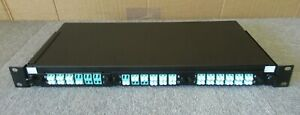 "36 Port Duplex LC MPO MTP Fiber Optic Cassette Patch Panel 1U 19"""