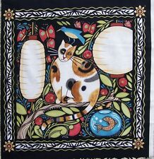 *Cats*Catkin by Julie Paschkis for In The Beginning Fabrics