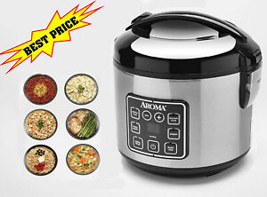 8-Cup Digital Cool-Touch Rice Cooker & Food Steamer, Multi-function, Easy Using