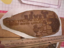 Flexographic Printing Plate Rubber Stamp - Fawk's Drug Store