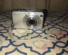 Sony Cyber-shot DSC-W100 8.1MP Digital Camera - Silver (A14) Carl Zeiss Lens