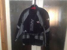 Akito Motorcycle Jacket Black & Grey size S