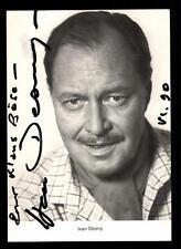 Ivan Desny Autogrammkarte Original  Signiert ## BC 39767