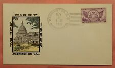 DR WHO 1935 FDC MICHIGAN CENTENARY NICE CACHET 149822