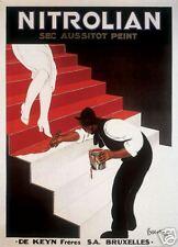 "48"" VINTAGE ART PRINT - Nitrolian by Leonetto Cappiello 48x34 Poster"