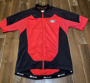 Sugoi Men's RS Pro Jersey Pro-Fit Small Red Black Road Cycling Jersey Used