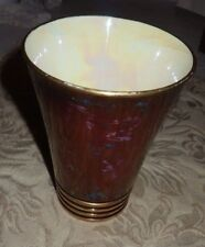 """Vintage Carlton Ware Rouge Royale Conical Vase 5 1/4""""  Made in England Beautiful"""