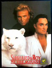 Siegfried & Roy At The Mirage Program :: 1994