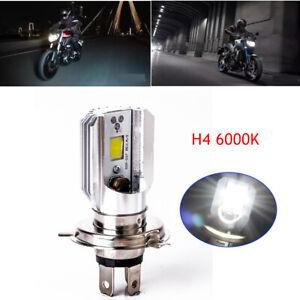 High Power H4 LED Bulb For Motorcycle Headlight Foglamp Hi/Lo Beam Bulb 9003 HB2