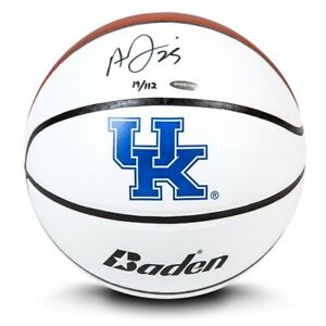Anthony Davis Signed Autographed Baden UK Basketball Univ. of Kentucky #/112 UDA