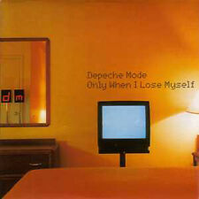 ★☆★ CD SINGLE DEPECHE MODE Only when I lose myself CARD SLEEVE  NEW SEALED