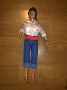 Mattel Disney Prince Eric Doll from Little Mermaid very good condition hunky boi