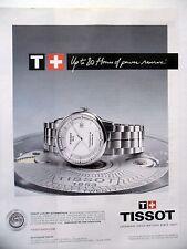 PUBLICITE-ADVERTISING :  TISSOT Luxury Automatique  2014 Montres