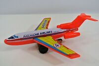 Saito S2 American Airlines Boeing 727 Tin & Plastic Friction Airplane Jet Japan