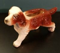 Vintage 1952 Spaniel Dog Figurine by AMICO Made in Japan Ceramic collectable