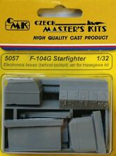 CMK 1/32 F-104G Starfighter Electronics Boxes (behind Cockpit) for Hasegawa 5057