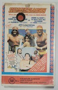 WWF - WWE - Summerslam 88, Tested  (VHS, 1988). Free Postage.