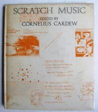 Scratch Music Experimental Orchestra Cornelius Cardew composer visual score book