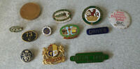COLLECTION VINTAGE / RETRO RAILWAY ENAMEL BADGES- PULLMAN / ASLEF / GROVE PARK