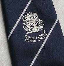 Vintage Golf Tie Mens Necktie Retro Sport Golfing Club George & Dragon