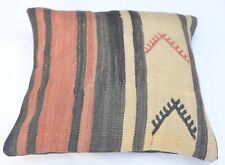 Sofa  Pillow Cover, Oriental Living Room Decor, Retro Pillowcase , 16''x16''