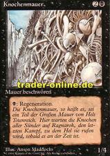 Muro de huesos (wall of bone) Magic Limited Black bordered German beta fbb foreign