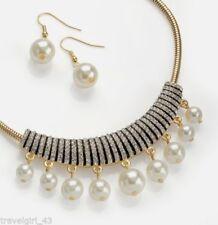 Unbranded Pearl (Imitation) Costume Jewellery Sets