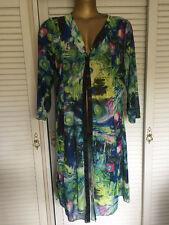 Gorgeous and Stylish New Size 18 Top or Jacket in Multicoloured Fabric