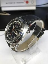 1969 Seiko Pulsations 6139 6020 Vintage Chronograph Serviced Boxed Doctors Watch