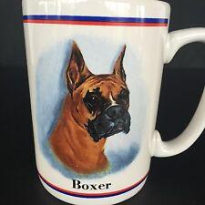 Boxer Dog Breed Animal Coffee Tea Cup Mug Portraits R. Maystead Papel Freelance
